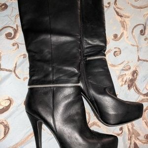 ZIGI SOHO stiletto black boots